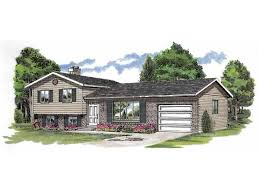 split level home plans home plan homepw23504 1285 square foot 3 bedroom 1 bathroom