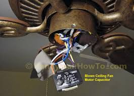 can you replace ceiling fan blades photo tutorial showing how to replace a blown ceiling fan motor