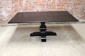 Dining Room Pedestal Tables Table Winning Dining Table Pedestal Base For You The Harvest With