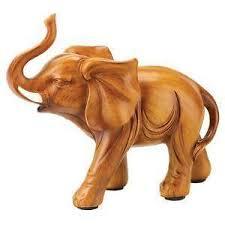 wood elephant ebay