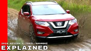 nissan x trail brochure australia 2018 nissan x trail aka qashqai explained youtube