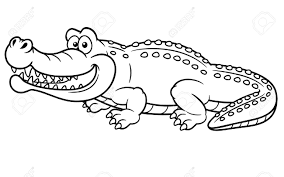 crocodile coloring pages coloringsuite