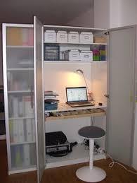 Ikea Hack Office Desk Ikea Hack Billy Bureau Workspace In A Billy Bookcase U2022 Ikea