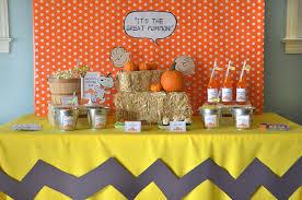 kara u0027s party ideas it u0027s the great pumpkin charlie brown halloween