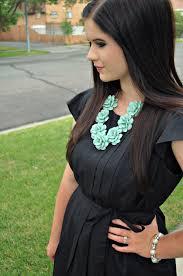 color necklace black dress images What color necklace to wear with black dress la necklace jpg