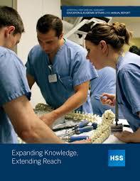 2016 hss education u0026 academic affairs annual report by hospital
