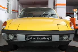 porsche 914 yellow 1972 porsche 914 targa roadster 18 950 u2013 hamilton grays