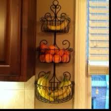 wall fruit basket wall mount fruit basket on the hunt