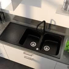 evier de cuisine en resine evier cuisine resine noir 2 bacs cuisine idées de décoration de