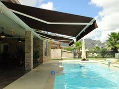 Oasis Awning Retractable Awnings Over Pool Retractable Awnings Pinterest