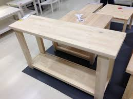 Sofa Tables Cheap by Living Room Custom Unfinished Sofa Table For Vintage Living Room