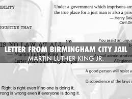 letter from birmingham jail by madison smith