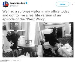 west wing actors hit back at white house press daily