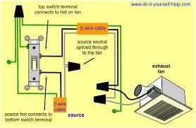bathroom exhaust fan wiring code exhaust fan wiring diagram fan