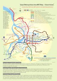 Map Of Taiwan Mrt Taipei Metro Map Taiwan