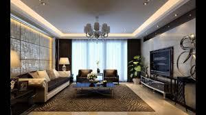 Livingroom Wallpaper Interior Design For Rectangular Living Room Youtube
