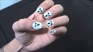 imagenes de uñas decoradas de jalowin uñas decoradas para halloween faciles paso a paso con esmalte