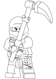 lego kick butler coloring page free coloring pages online