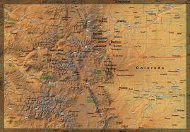 Map Of Colorado State by Show Me A Map Of Colorado Adriftskateshop