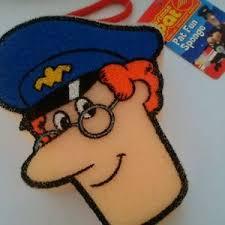 postman pat bath sponge code 1180