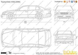 lexus es de toyota the blueprints com vector drawing lexus gs