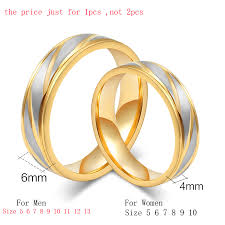 just men rings meaeguet fashion lover s wedding rings gold color rings stainless