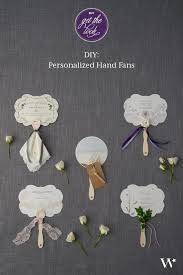 Wedding Program Hand Fans 8 Best Diy Personal Hand Fan Images On Pinterest Wedding Stuff