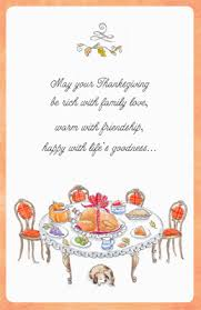 thanksgiving greeting card verses festival collections