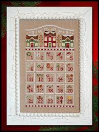 Country Cottage Cross Stitch Countdown To Christmas Cross Stitch Pattern By Country Cottage