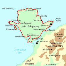 Map Of Wales Isle Of Anglesey Coastal Path Walking Holidays And Hiking Tours