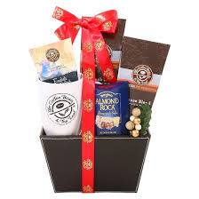 coffee and tea gift baskets alder creek coffee bean tea leaf leather gift basket 2 lbs target