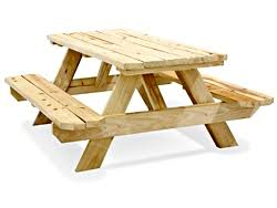 Picnic Table Frame Economy A Frame Wooden Picnic Table 6 U0027 H 2999 Uline