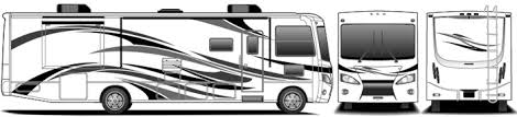 Design Your Own Motorhome Rv Graphics U0026 Decal Replacement Graphix Unlimited