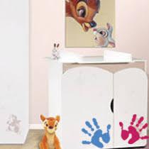 chambre enfant minnie chambre disney baby déco disney bébé sur bebegavroche