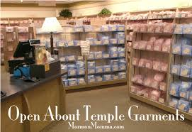 the lds church opens up about temple clothing