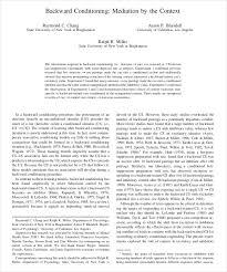 9 classical conditioning examples free u0026 premium templates