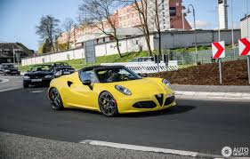 alfa romeo 4c spider 14 april 2017 autogespot