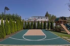 long island backyard sport court house pinterest backyard
