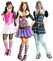 Halloween Costumes Monster High by Monster High Ladies Fancy Dress Halloween Character Womens