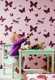 butterfly pink interior designs bedroom to home design ideas