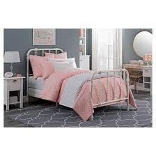 twin jenny lind metal bed white dorel home products target