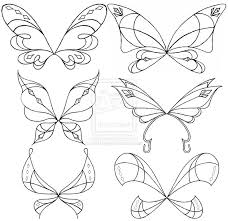 25 fairy wings drawing ideas fairy wings