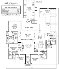 4 bedroom farmhouse plans madden home design the rosepine