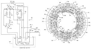 patent us6255755 single phase three speed motor with shared