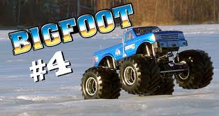original bigfoot monster truck rc monster truckin u0027 bigfoot 4 ice crusher youtube