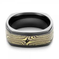 seattle wedding band men s mokume wedding rings custom made rings bellevue and