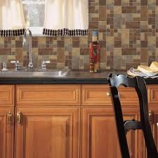 peel and stick backsplashes for kitchens stick tiles peel and stick tile backsplashes roommates