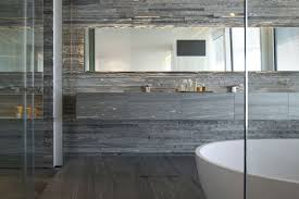 mirror tiles for bathroom walls large mirror stone tiles bathroom elegant apartment with