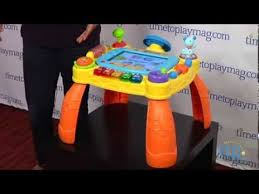 vtech activity table deluxe idiscover app activity table from vtech youtube