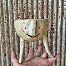 Face Planter Diy Animal Planter U2013 Crystal Nykoluk Clay Artist U0026 Earthshaper